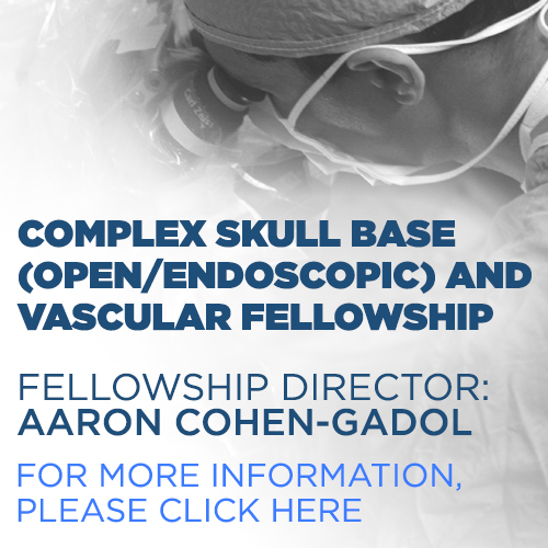 Complex Skull Base (Open/Endoscopic) and Vascular Fellowship, for more information, please click here.